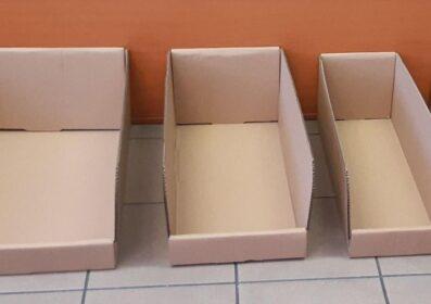 Polcra illeszkedő Bin-box
